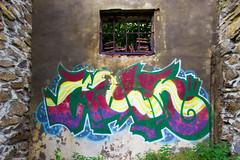 Graffiti (Jules Marco) Tags: canon graffiti austria sterreich niedersterreich waldviertel weitwinkel wideanglelens eggenburg loweraustria woodquarter wieshof sigma1020mmf35exdchsm eos600d