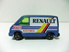 "RENAULT TRAFIC ""Asistencia"" - GISIMA (RMJ68) Tags: renault trafic i phase asistencia assistance service servicio pirelli furgoneta fourgon van gisima diecast coches cars juguete toy 164"
