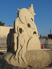 2016_SandSculptingFestival_043 (*Ice Princess*) Tags: revere reverebeach beach sand sandsculpture sandsculptingfestival sandsculptingcontest festival contest internationalsandsculptingfestival sculpture