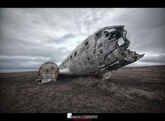 DC-3 ghost (Yiannis Chatzitheodorou) Tags: iceland wreck abandoned aircraft slheimasandur