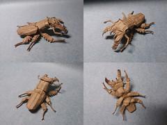 Lucanus maculifemoratus by Kota Imai (Artem Romenskiy) Tags: origami kota imai beetle fromcp lucanus maculifemoratus