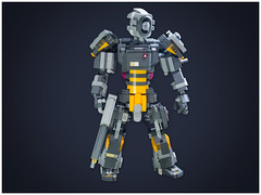 St-lone1 (donteatmemountainlion) Tags: robot lego character figure scifi mecha mech moc