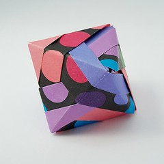 Octahedron (modular.dodecahedron) Tags: modularorigami tomokofuse octahedron