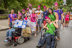 EM-160710-DisabilityPrideNYC-015 (Minister Erik McGregor) Tags: nyc newyork art festival photography march parade awareness visibility inclusion 2016 disabilitypride erikrivashotmailcom erikmcgregor 9172258963 erikmcgregor disabilitypridenyc disabilityparade