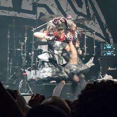 BABYMETAL in San Francisco, July 14th 2016 #2 (satoshikom) Tags: sanfrancisco concert heavymetal theregencyballroom babymetal yuimetal panasonicdmczs100
