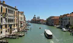 DSC_0109 (bikerchisp) Tags: venice italy ital italia venise canals lagoon bridges gondola holiday vacation europe adriatic sea water waterways streets blue sky bluesky sunshine bikerchisp