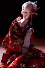 Emperor Nero () Tags: red toy japanese nikon doll action dream fate figure saber bjd dollfie nero extra emperor animate heero