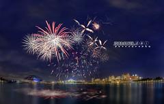 NDP 2016 Fireworks #8 - 23rd July 2016 (Samuel.Dai) Tags: nationalday parade ndp singaporeindependence 2016 fireworks nationalstadium singaporeriver tourism touristattraction lowlightphotography cityscapephotography skyline longexposurephotography nikon d800 15mm fisheye hdr samueldai