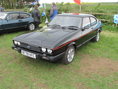 Ford Capri 2.8 Injection Special B779VFC (Andrew 2.8i) Tags: ford capri classic car coupe sports sportscar cci club international badgers hill evesham 28 injection v6 cologne mark3 mk3 mark mk 3 hatch hatchback all types transport worldcars