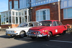 Tatras at Seabrook House (Davydutchy) Tags: hythe kent uk england truk tatra annual rally meeting classic car t603 603 t613 613 chromka