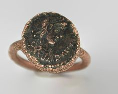These are one of my (alaridesign) Tags: these one more popular made order rings with genuine roman coins coin unique historical imagine who held this ove etsyfinds alaridesign silverrings uniquerings funrings