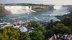 Niagara Falls (from the Canadian side) (Nikhil Khade) Tags: niagarafalls ontario canada waterfall tourists water