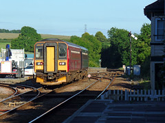153369 & 153325 Liskeard (5) (Marky7890) Tags: fgw gwr 153369 class153 supersprinter dmu 2p78 liskeard railway station cornwall train 153325
