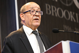 Minister of Defense Le Drian puts a face to the