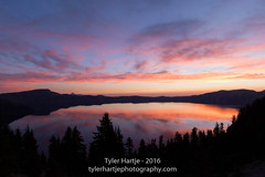 20160816-2R6A0285 (Tyler Hartje) Tags: crater lake national park sunrise wizard island oregon klamath county chemult central southern pink purple blue calm peaceful centennial