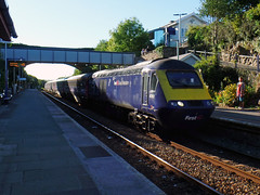 43161 Liskeard (2) (Marky7890) Tags: fgw gwr 43161 class43 hst 1a98 liskeard railway station cornwall train