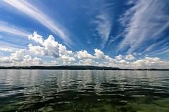 Nothing but All (yarin.asanth) Tags: nothing all clouds mettnau island radolfzell hri gerdkozik yarinasanth weekend lake constance kayaking kayak summer 2016 kcs14