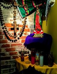 The Altar at Mi Tierra (photo.po) Tags: catholicstatues mexicanculture resturaunt market satx tx mitierra
