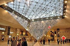 The Inverted Pyramid (EmperorNorton47) Tags: thelouvre paris iledefrance france photo digital autumn fall pyramid inverted shoppingcenter