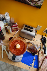 Baked-Sauce-IMG_3196 (joseph645) Tags: carol done flashandcamerainmanual josh makingbakedspaghettisauce remoteflashtest