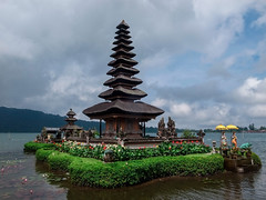 _0033578 (Two people two cameras) Tags: indonesia bali asia travel photography photo nature temple history hindu hindutemple bedugul bratan lake water sky outdoor religion spiritual nopeople ricoh