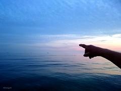 Lappel du large (frenziM) Tags: seascape water croatia istria sea blue twilight dusk