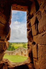 A window with a view (21mapple) Tags: kenilworth kenilworthcastle castle canon750d canon canoneos750d canoneos clouds ruins englishheritage england eh