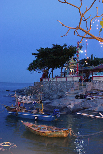 Thailand, Hua Hin, Sea Side Restaurant