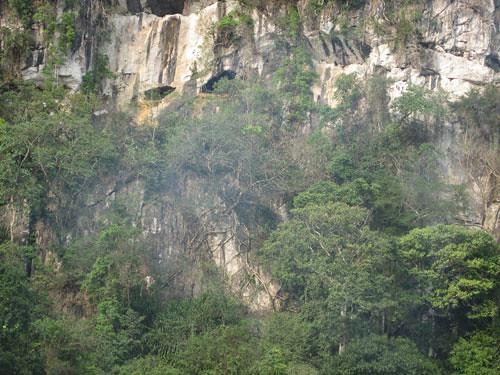 Vẻ đẹp nguyên sơ kỳ bí bên ngoài hang Con Moong
