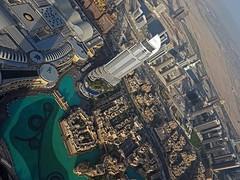 From the Observation Deck of Burj Khalifa 2 (joeng) Tags: building landscape dubai uae places olympus omd em1 dubaifountain burjkhalifa