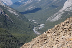 Nihahi Ridge the hike back down (davebloggs007) Tags: canada kananaskis back country down hike ridge alberta nihahi 2015