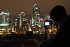 Get The Shot (Under and Over) Tags: night cityscape rooftops time montreal under over captured behind moment scenes urbex outdours