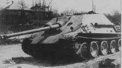 """Jagdpanther (German: """"hunting panther"""")"""