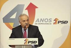 Fernando Costa na comemoração do aniversário do partido, Distrital de Leiria