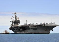150527-N-ON468-007 (U.S. Pacific Fleet) Tags: hawaii us unitedstates aircraftcarrier usscarlvinson 7thfleet warfighter 5thfleet jointbasepearlharborhickam