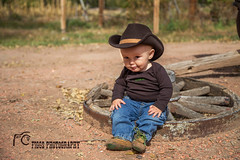 Little Cowboy (figgsphotography) Tags: boy photography infant cowboy western nm 505 littlecowboy