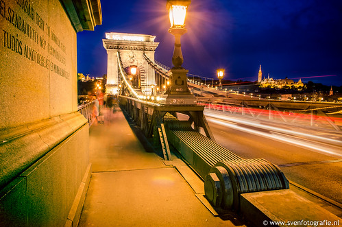 Chain Bridge of Budapest