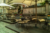 Terrassen-Restaurant-Open Air-Restaurant (Jutta M. Jenning) Tags: restaurant abend licht reisen outdoor fenster strasse haus treppe polen architektur tor laterne altstadt danzig tourismus fassade reise gebaeude tische treppen haeuser stuehle fassaden abendlicht strassen blumenschmuck frauengasse staedtereisen sehenwuerdigkeiten gemã¼tlich