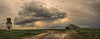 (Chains of Pace) Tags: storm reflection abandoned oklahoma vintage landscape prairie panhandle guymon