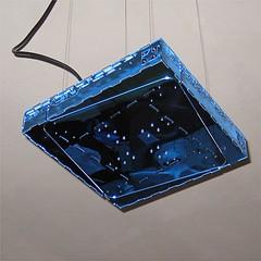 Radiant_40_mirror_blue (Option!) Tags: lighting blue light home lamp azul square mirror design licht code shiny suspension blu spiegel azure fluorescent espejo animated 40 popup decor radiant compact lampada quadra boxy mirall morse