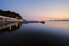 Seaside (fredMin) Tags: reflection cap antibes seaside long exposure travel sunset fuji fujifilm xt1 samyang 12mm cote dazur