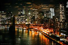 New York (RoxiRosita) Tags: city light ny newyork love night bokeh shift wanderlust tilt tiltshift roxirosita