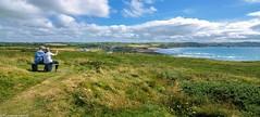 Enjoying View! (R Rabi) Tags: cornwall widemouthbay landscape landscapephotography uklandscape england bude