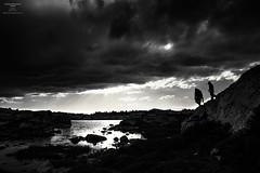File962 (Jason Hummel Photography) Tags: windriverrange hiking backpacking fishing fish fisherman blackandwhite baldmountainbasin spiderlake lake alpinelake wyoming 2016 summer hike mountain mountains jessyhummel calinhummel