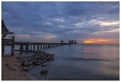 pier of grace (Dax Ward Photography) Tags: thailand travel pier ocean water waves buddhisttemple