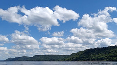 Bluff-orama (DewCon) Tags: lakepepin bluffs minnesota clouds sky