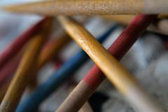 pick up sticks 7 (Whistleberry Arts) Tags: up sticks textures pick pickupsticks vintagetoys macromonday