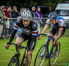 Cyclists: Stephen Jackson  & James Melville (FotoFling Scotland) Tags: cycling scotland cyclist event balloch highlandgames stephenjackson jamesmelville lochlomondhighlandgames