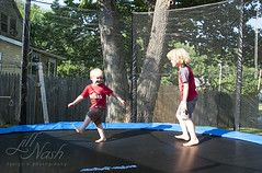 195/366 (grilljam) Tags: summer seamus ewan 4yrs 7yrs 366days trampolineantics july2016