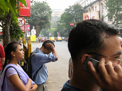 Park Street (S_Artur_M) Tags: street travel people india canon ixus kolkata indien reise